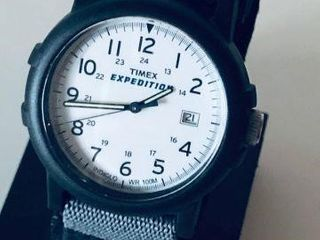 TIMEX EXPEDITION NYLON BAND WATCH - USED
