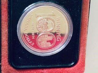 WINNIPEG 100 CENTENNIAL SILVER DOLLAR