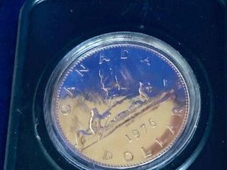 1976 CANADIAN SILVER DOLLAR