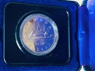 1975 CANADIAN SILVER DOLLAR