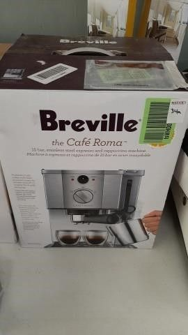 BREVILLE 15 BAR, STAINLESS STEEL EXPRESSO AND