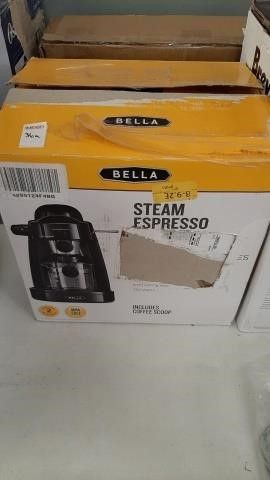 BELLA STEAM EXPRESSO