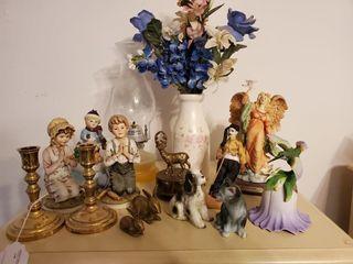Oil lamp  Porcelain Figurines  Decorations