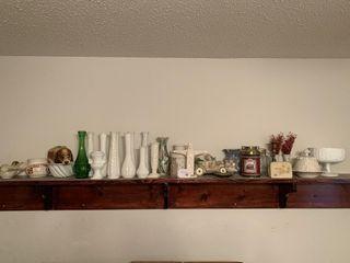 Contents of shelf