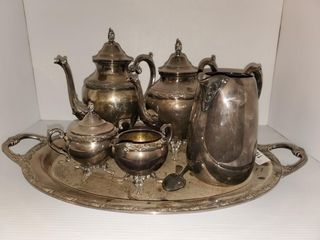 Rogers Silver Plate Tea Service