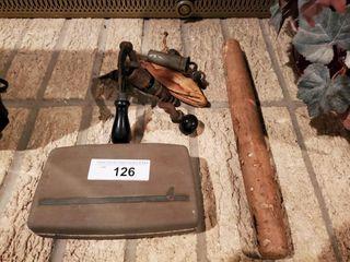 Vintage Bullet Press   Norelco Razor