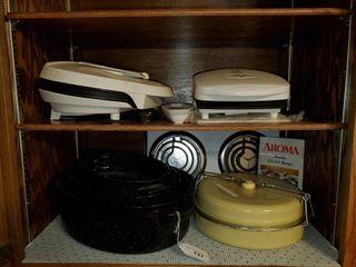 Aroma Range Oven  George Foreman Grills