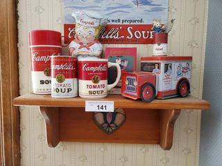 Campbell Soup Mug  Thermos  Collectibles