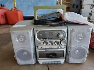 Magnovax VHS  GPX Radio