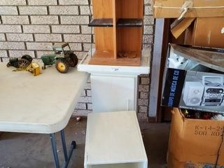 End Tables    Shelf