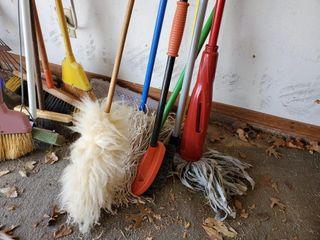Mop  Duster    Brush