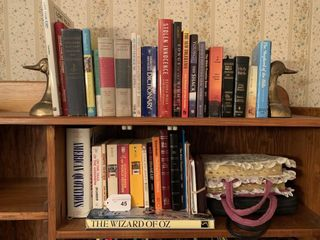 Bibles  books  duck bookends