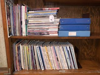 Contents of 2 shelves  magazines