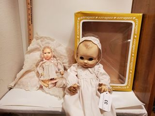 2 Effanbee dolls