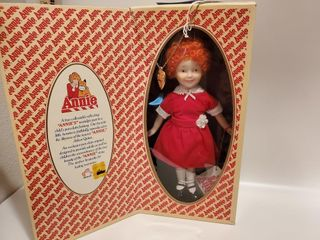 Annie - genuine porcelain doll