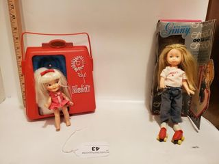 Heidi doll & Vogue doll (Ginny)