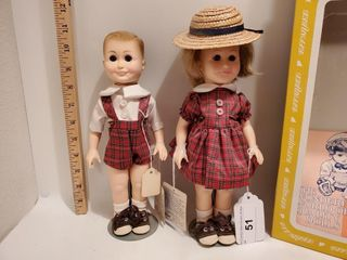 Effanbee   Bobbsey Twins dolls