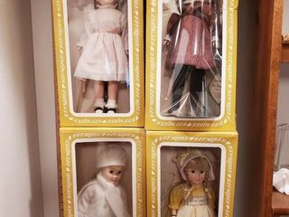 4 Effanbee Four Season Dolls