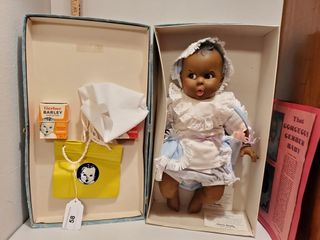 Baby Gerber doll in carrying case