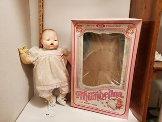 Ideal   Newborn Thumbelina Baby Doll