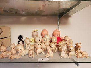 26 Kewpie figurines