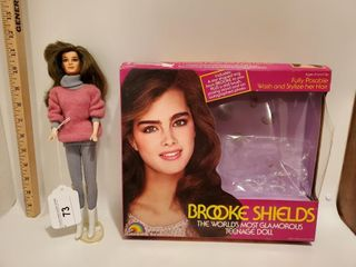 Brooke Shields fashion doll