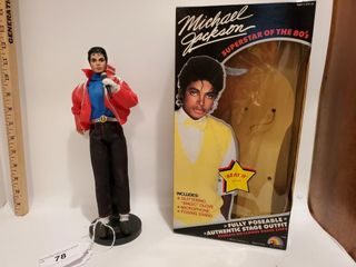 Michael Jackson poseable doll