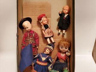 7 character dolls