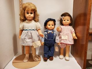 3 Chatty Cathy Dolls