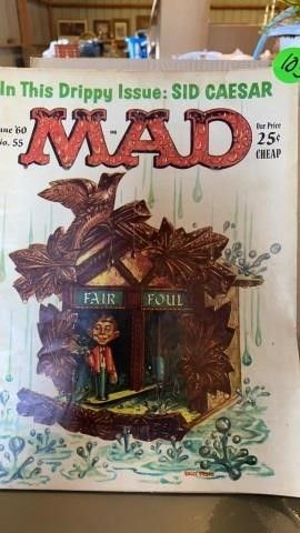 1960 JUNE MAD MAGAZINE