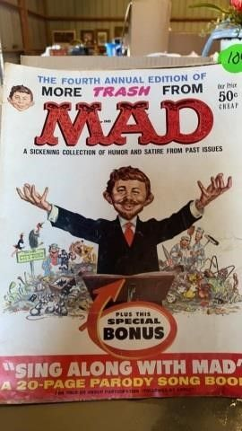 MAD MAGAZINE JUlY 1969