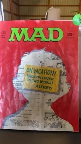 MAD MAGAZINE OCT 1969