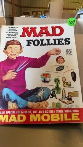 MAD MAGAZINE FOllIES OF THE1960IJS