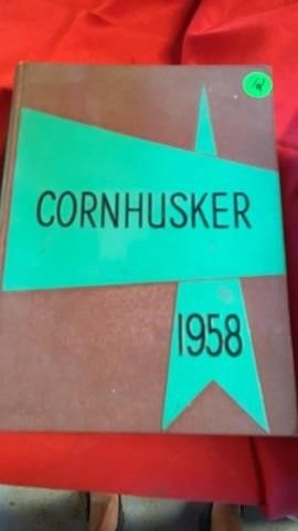 1958 CORNHUSKER UNl YEARBOOK