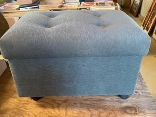 HASSOCK WITH STORAGE