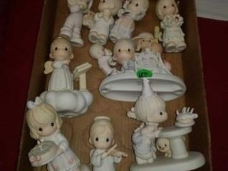 ASSORTMENT OF PRECIOUS MOMENTS FIGURINES