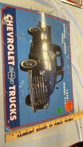 CHEVROlET TRUCKS TIN