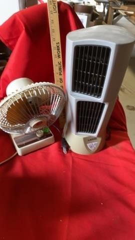 8IJ lITTlE 2 SPEED FAN AND lASKO HEATER