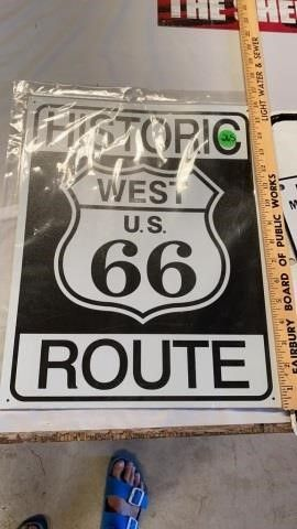 HISTORIC WEST 77 ROUTE TIN
