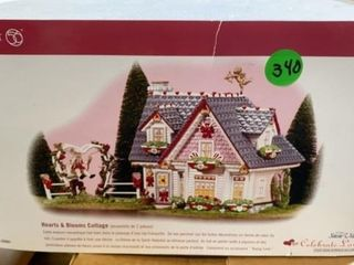 HEARTS AND BlOOM COTTAGE BY DEPT 56