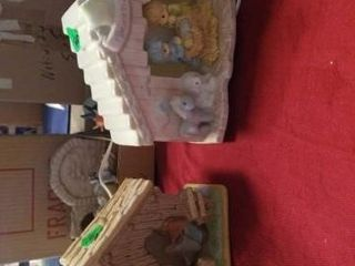 2 NATIVITY SETS 1 IS PRECIOUS MOMENTS