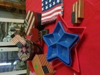 FOURTH OF JUlY DECORATIONS  TABlE RUNNER