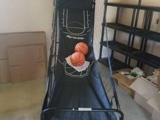 REDlINE SPORTS BASKETBAll HOOP WITH 2 BASKETBAllS
