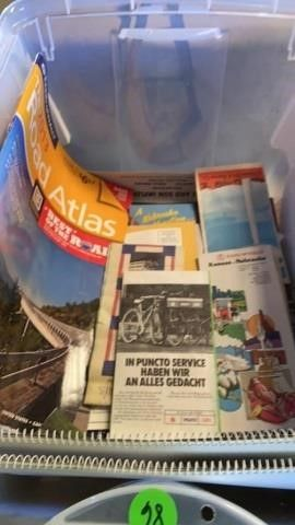 TUB OF ROAD ATlAS  ROAD MAPS AND CAlENDAR S