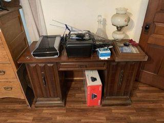 Small Desk, Canon Scanner & Miscellaneous