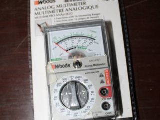Woods Analog Multimeter