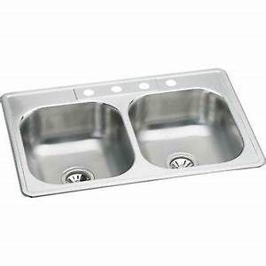 Elkay 873623 Stainless Steel Dual Sink