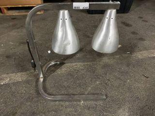 Dual Heat lamps
