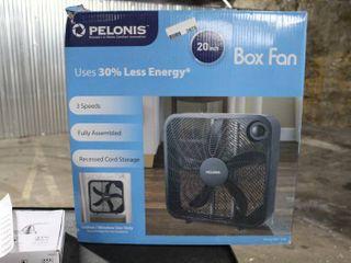 Pelonis 20 inch Box Fan