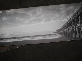 Home Art on Wood 7in x 37 inch